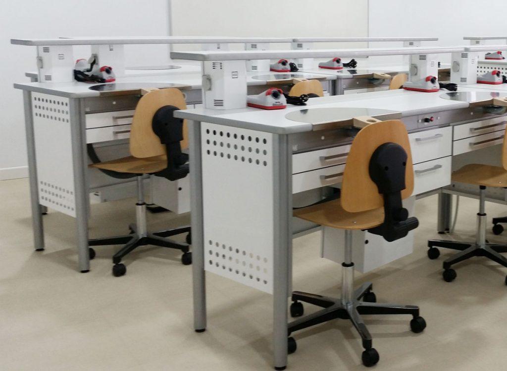 Muebles para Centros de formación dental - JEB Proclilab