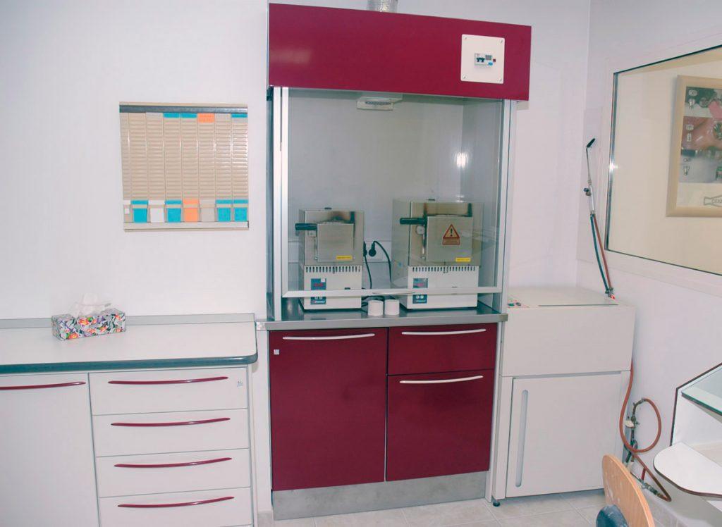 Campanas para hornos con cristal para laboratorios dentales Jeb