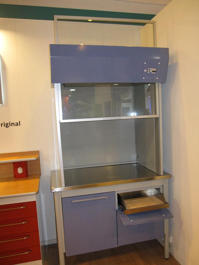 Campana Jeb puerta cristal para laboratorio