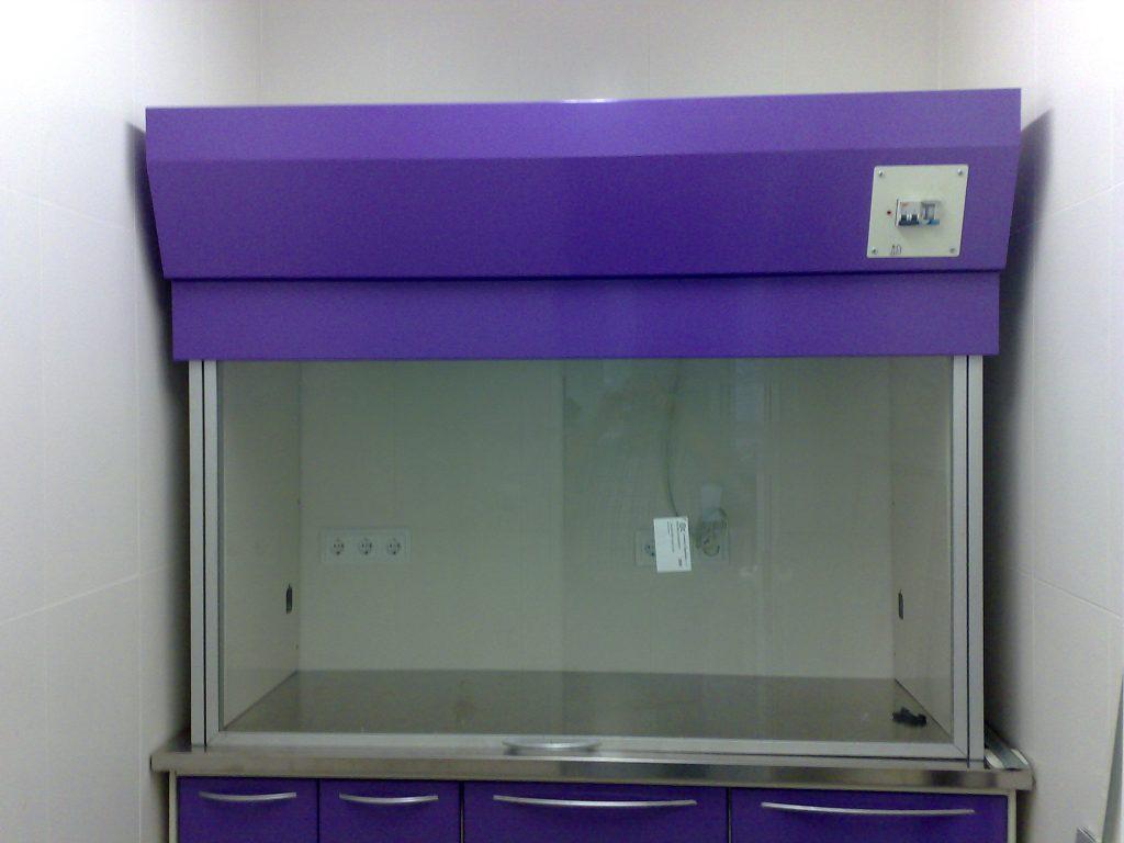 Campanas para hornos morada para laboratorios dentales Jeb