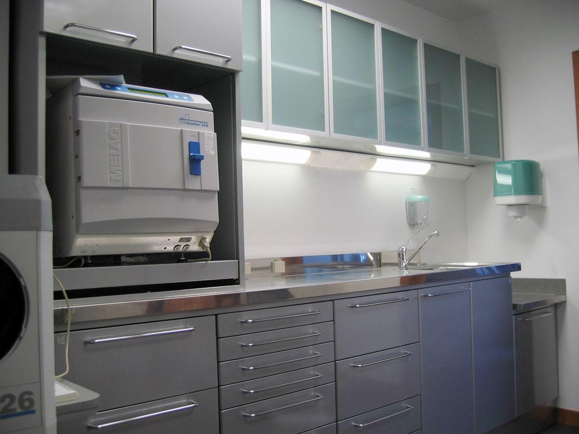 Conjunto de muebles para sala de esterilización Jeb Proclilab