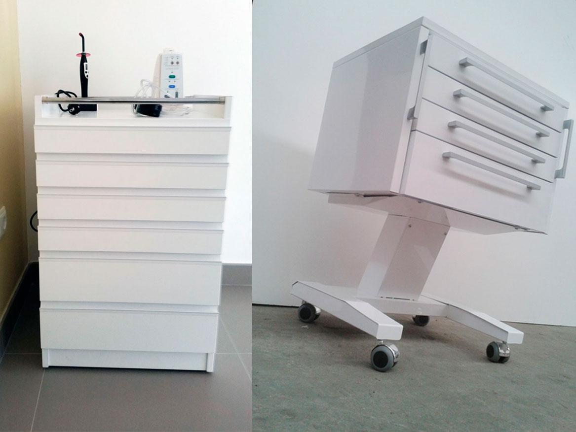 Módulos rodante para Muebles para clínica dental Jeb Proclilab