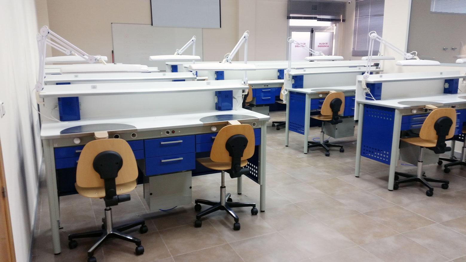Muebles para centros de formación dental Jeb