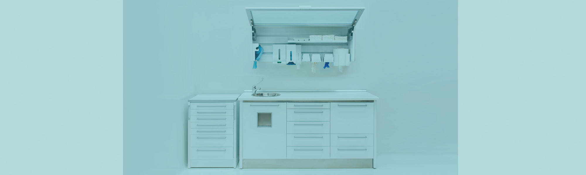 Mobiliario para clínicas dentales <br/> y laboratorios de prótesis